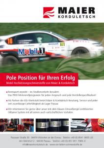 Maier Korduletsch, Sponsor der Niederbayerischen Meisterschaft
